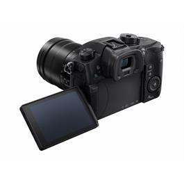 Panasonic Lumix GH5 Leica 12-60 Kit Back Angle with Screen