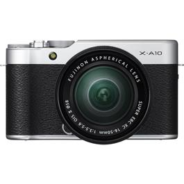 Fujifilm X-A10 with XC 16-50mm f/3.5-5.6 OIS II Front