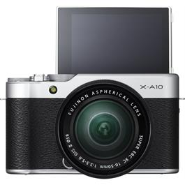 Fujifilm X-A10 with XC 16-50mm f/3.5-5.6 OIS II Front with Screen