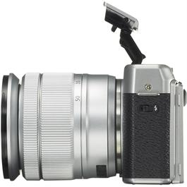 Fujifilm X-A10 with XC 16-50mm f/3.5-5.6 OIS II Side with Flash Up