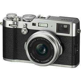Fujifilm X100F Compact Camera With Fujinon 23mm f/2 Lens - Silver thumbnail