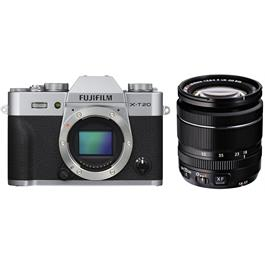 Fujifilm X-T20 Camera With XF 18-55mm LM OIS Lens Kit - Silver thumbnail