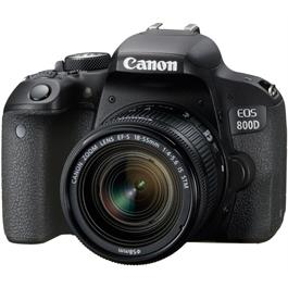 Canon EOS 800D 18-55 Kit Front Angle