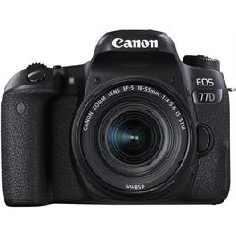 Canon EOS 77D Digital SLR Camera With 18-55mm IS STM Lens thumbnail