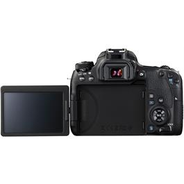 Canon EOS 77D 18-135 Kit Back with Screen Out