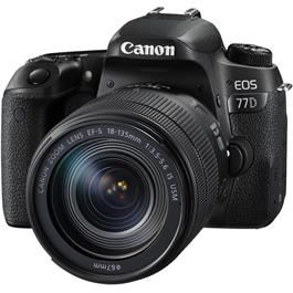 Canon EOS 77D 18-135 Kit Front Angle