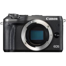 Canon EOS M6 Mirrorless Camera Body - Black thumbnail