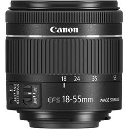 Canon EF-S 18-55mm f4-5.6 IS STM Side