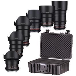 Samyang VDSLR 6 Lens Kit - Canon EF thumbnail