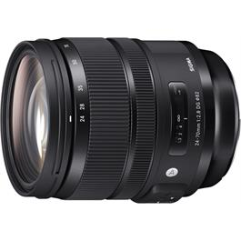 Sigma 24-70mm f/2.8 DG OS HSM Art Standard Zoom Canon Fit Lens thumbnail