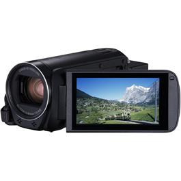Canon Legria HF R88 Front Angle with Screen Out