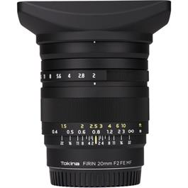 Tokina Firin 20mm f/2 FE Manual Focus Lens - Sony E Mount thumbnail