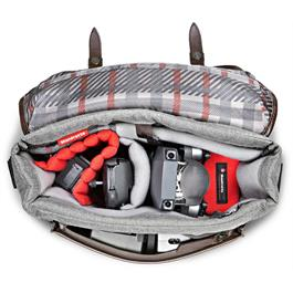 Manfrotto Windsor Small Messenger Bag Top Filled