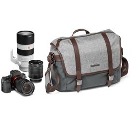 Manfrotto Windsor Small Messenger Bag with What Fits