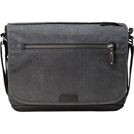 Tenba Cooper 13 Slim Grey Canvas Shoulder Bag thumbnail