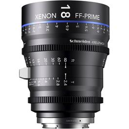 Xenon FF 18mm T2.4 Lens with PL Mount (Feet)
