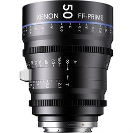 Xenon FF 50mm T2.1 Lens with Sony E Mount (Metres)