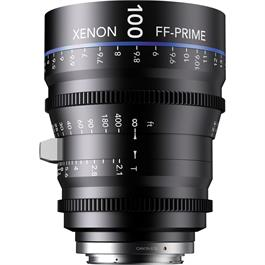 Xenon FF 100mm T2.1 Lens with Nikon F Mount (Feet)