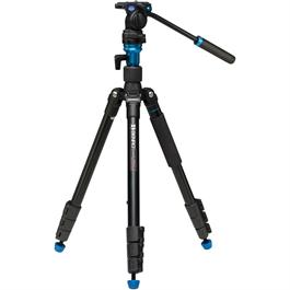 A1883FS2C Aluminium Aero2 Video Tripod with S2 Head Kit