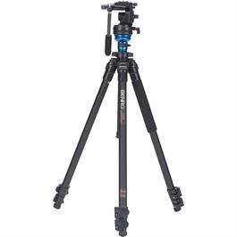 Benro A1573FS2 Series 1 Aluminium 3 Section Single Leg Video Tripod with S2 Head Kit thumbnail