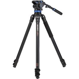 Benro Series 3 3-Section Aluminium Single Leg Video Tripod Kit (S7 Head) thumbnail