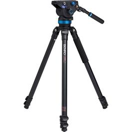 Benro Series 3 3-Section Aluminium Single Leg Video Tripod Kit (S8 Head) thumbnail