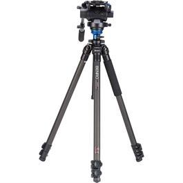 Benro Series 2 3-Section Carbon Fibre Single Leg Video Tripod Kit (S6 Head) thumbnail