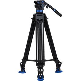 Benro Aluminium Twin Leg Video Tripod and S8 Fluid Head Kit thumbnail