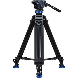 A673TMBS8 Aluminium Twin Leg Video Tripod with S8 Head Kit