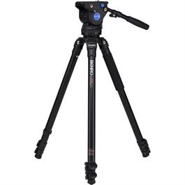 Benro Series 3 Aluminium Single Leg Video Tripod and BV4 Fluid Head Kit thumbnail