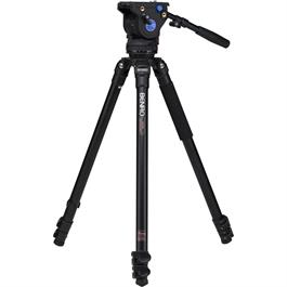 Benro Series 3 Aluminium Single Leg Video Tripod and BV6 Fluid Head Kit thumbnail
