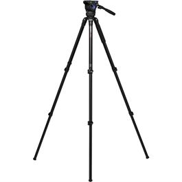 A373FBV6H Series 3 Aluminium Single Leg Video Tripod with BV6H Head Kit