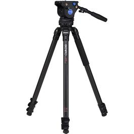 Benro C373FBV4H Series 3 Aluminium Single Leg Video Tripod with BV4H Head Kit thumbnail