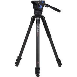 Benro Series 3 Carbon Fibre Single Leg Video Tripod and BV6 Fluid Head Kit thumbnail