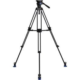 BV8 Aluminium Twin Leg Video Tripod with BV8 Head Kit