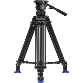 Benro Aluminium Twin Leg Video Tripod with BV10 Fluid Head Kit thumbnail