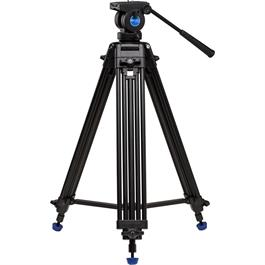 Benro Aluminium Twin Leg Video Tripod with K5 Fluid Head Kit thumbnail