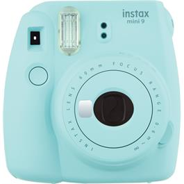 Fujifilm Instax Mini 9 Ice Blue Instant Camera + 10 Shots thumbnail