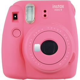 Fujifilm Instax Mini 9 Flamingo Pink Instant Camera + 10 Shots thumbnail