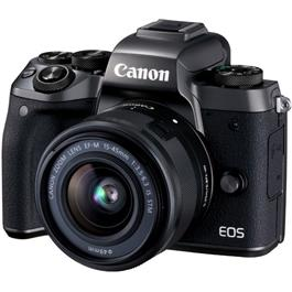 Canon EOS M5 Mirrorless Camera With EF-M 15-45mm IS STM Lens Kit Thumbnail Image 1