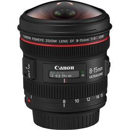 Canon EF 8-15mm f/4L Fisheye USM Lens thumbnail