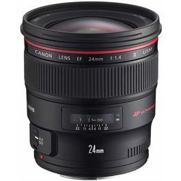 Canon EF 24mm f/1.4L II USM Wide Angle Lens thumbnail