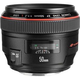 Canon EF 50mm f/1.2L USM Standard Lens thumbnail