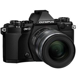 Olympus OM-D E-M5 Mark II Camera With 12-100mm PRO Lens Kit - Black Thumbnail Image 4