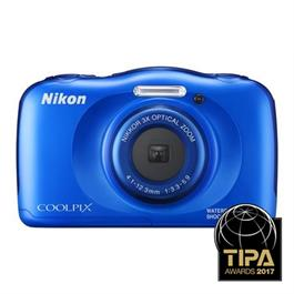 Nikon Coolpix W100 Blue Waterproof Compact Camera Thumbnail Image 0
