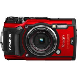 Olympus Tough TG-5 Red Action Camera 1 Front