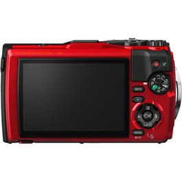 Olympus Tough TG-5 Red Action Camera 2 Back