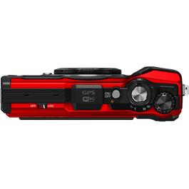 Olympus Tough TG-5 Red Action Camera 4 Top