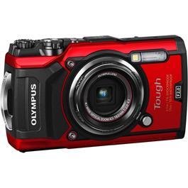 Olympus Tough TG-5 Red Action Camera 6
