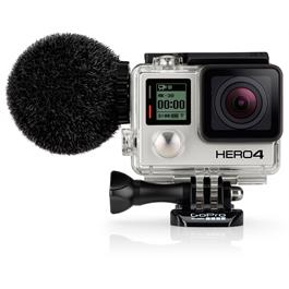 Sennheiser MKE2 Elements GoPro Hero4 Microphone on GoPro Hero4